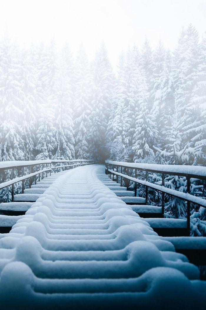 Kar Yagisi Sonrasi Medyana Gelen Ilginc Resimler 2